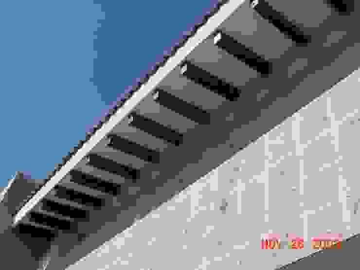 casa 84 Casas modernas de Hussein Garzon arquitectura Moderno Madera Acabado en madera