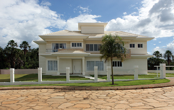 Casa Unifamiliar por Arina Araujo Arquitetura e Interiores Moderno