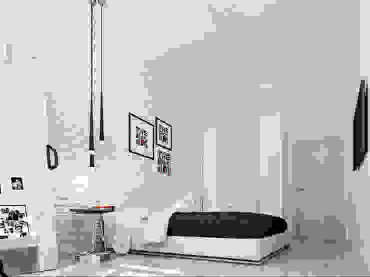 Chambre minimaliste par Оксана Мухина Minimaliste