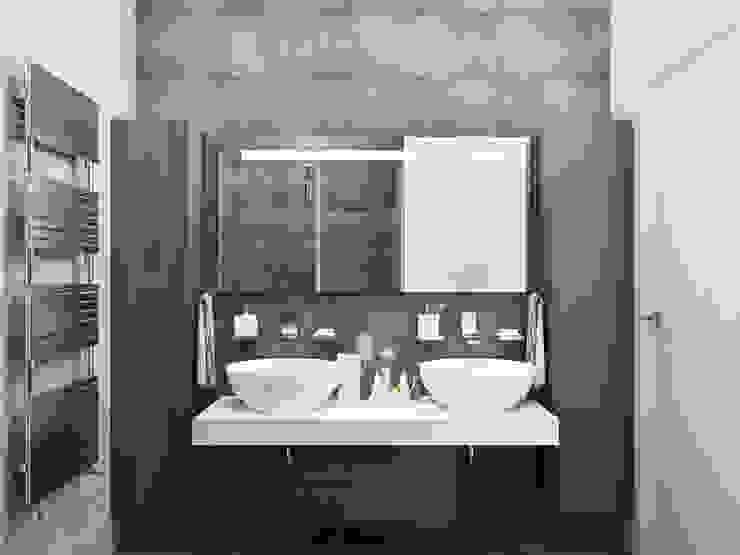 Salle de bain minimaliste par Оксана Мухина Minimaliste