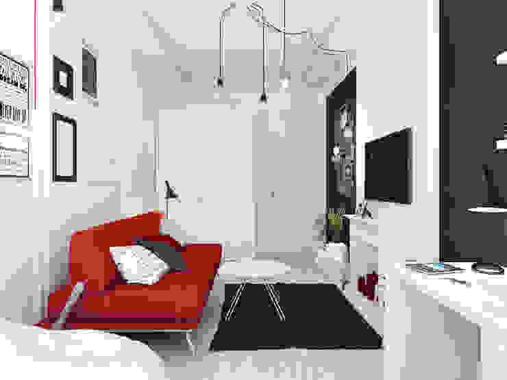 Minimalist bedroom by Оксана Мухина Minimalist