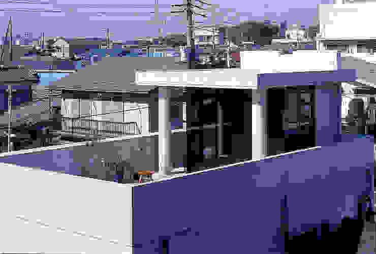 屋上 オリジナルな 家 の 松井建築研究所 オリジナル