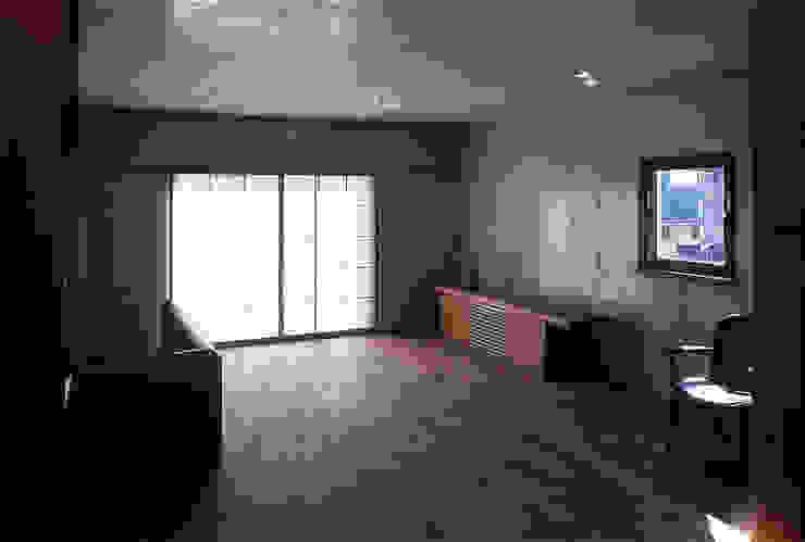 2階仕事場 オリジナルデザインの 書斎 の 松井建築研究所 オリジナル