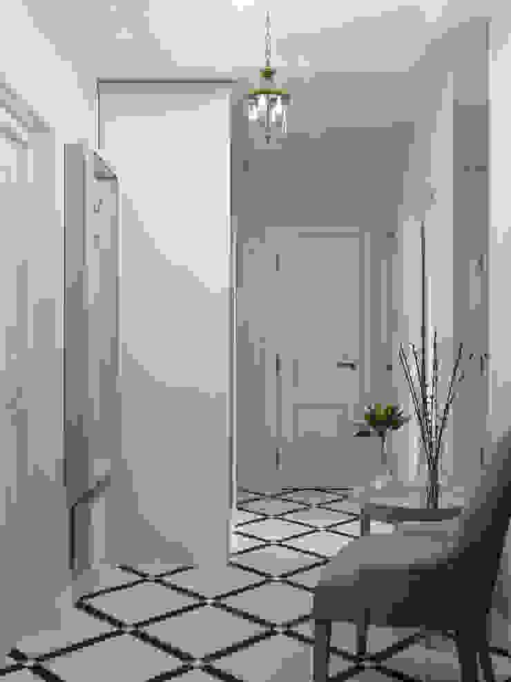 Couloir, entrée, escaliers coloniaux par Оксана Мухина Colonial