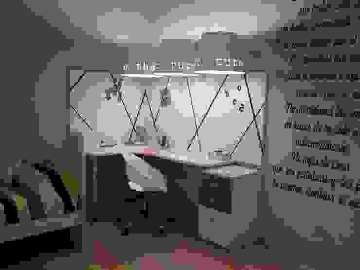 MW-Desgin ห้องนอนเด็กโต๊ะและเก้าอี้