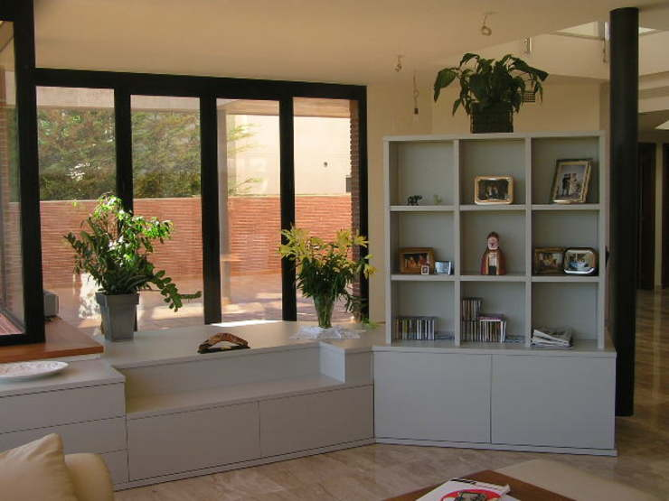 SEPARADOR LACADO Salas modernas de muebles apa Moderno