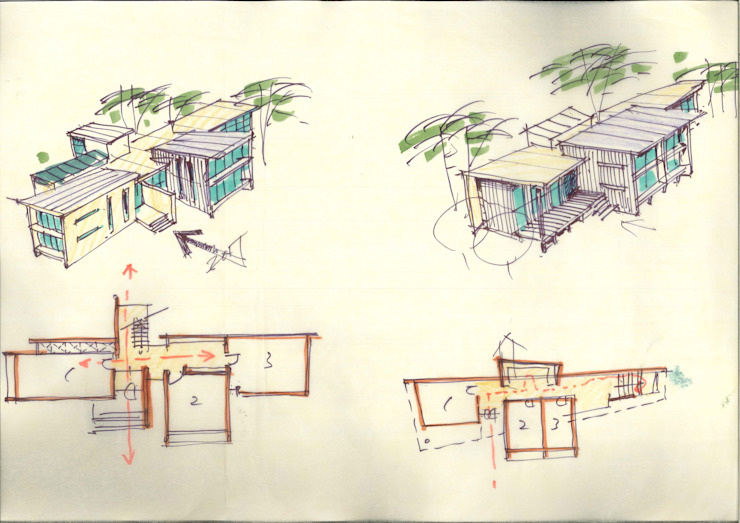 Sketch por KAWA Design Group Moderno