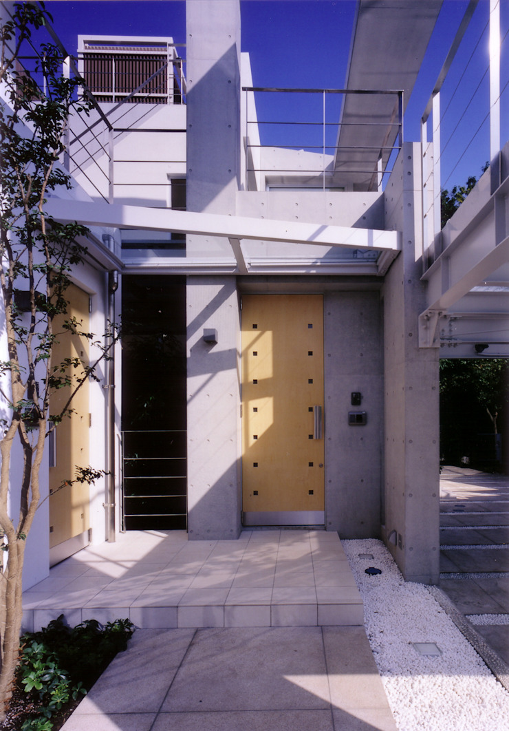 玄関ポーチ オリジナルな 家 の 豊田空間デザイン室 一級建築士事務所 オリジナル