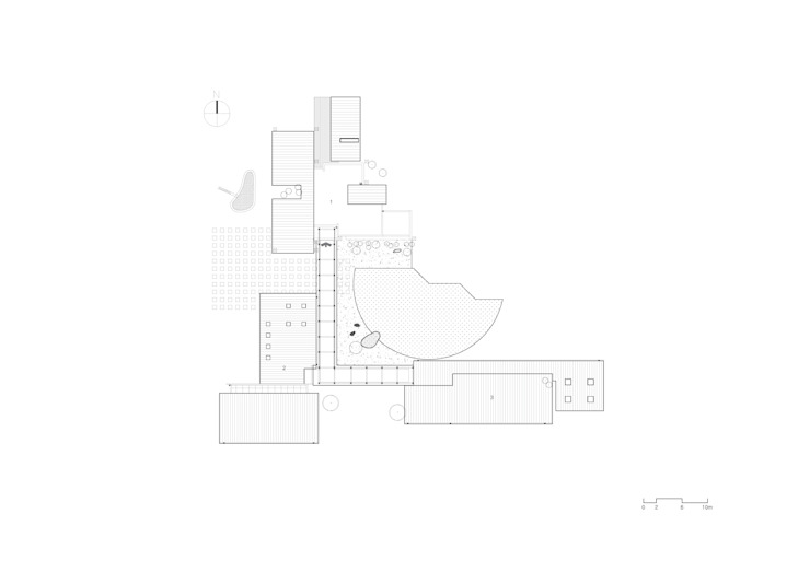 Site Plan: KAWA Design Group의 현대 ,모던