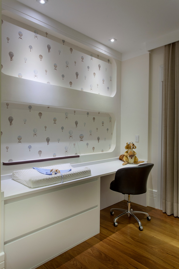 Casa Itu Quarto infantil moderno por Designer de Interiores e Paisagista Iara Kílaris Moderno