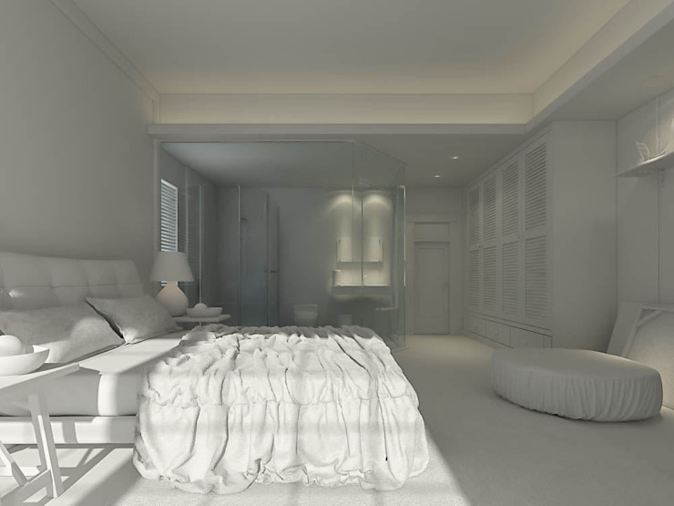 Modern style bedroom by Ali İhsan Değirmenci Creative Workshop Modern