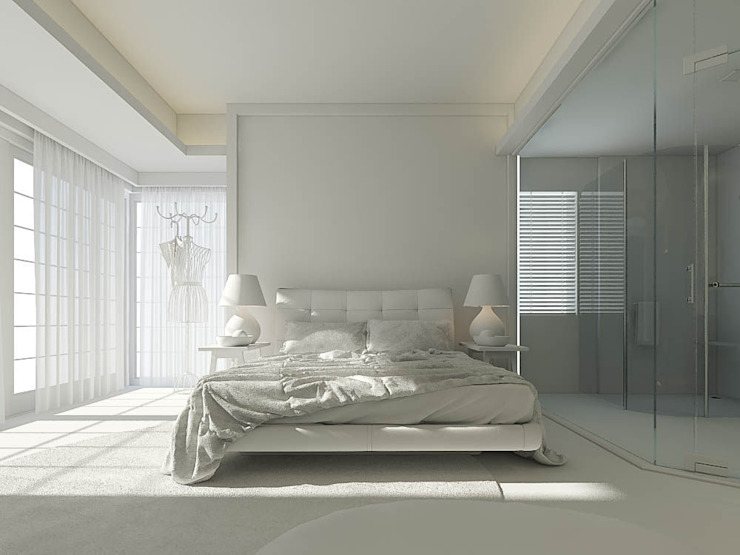 Modern Bedroom by Ali İhsan Değirmenci Creative Workshop Modern