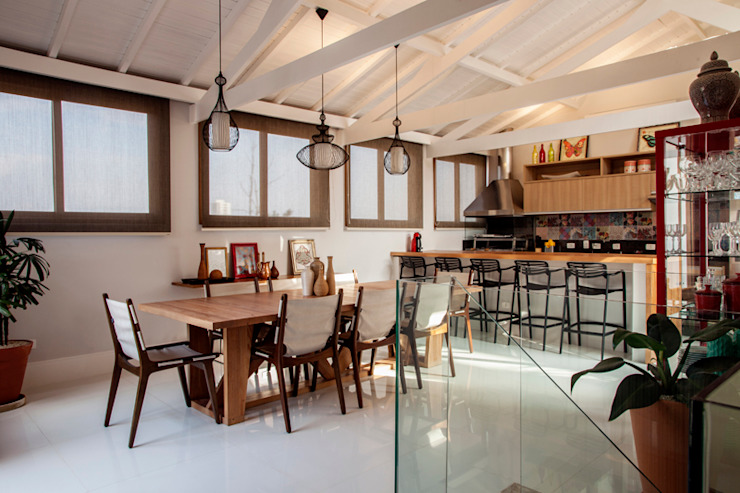 Cuisine de style  par Biarari e Rodrigues Arquitetura e Interiores