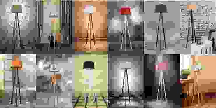 Housemax 3 ayaklı yer lambası ürünleri Housemax Tropikal