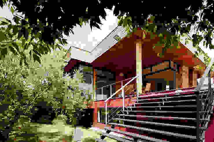 EXTENSION MAISON M33 Maisons modernes par Cendrine Deville Jacquot, Architecte DPLG, A²B2D Moderne