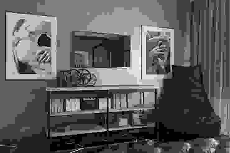 Лофт-Апартаменты в ж.к. TriBeCa Рабочий кабинет в стиле лофт от Oh, Boy! Интерьеры с мужским характером Лофт