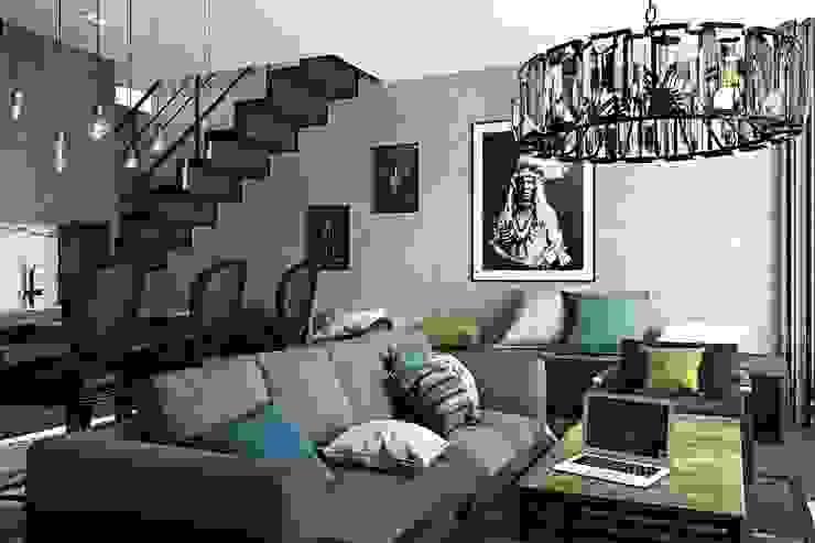 Oh, Boy! Интерьеры с мужским характером Living room