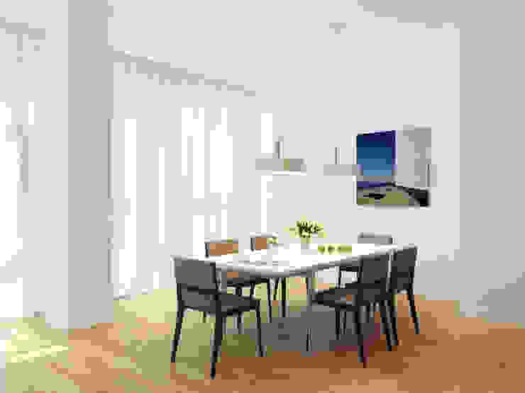 Апартаменты на берегу Черного моря Столовая комната в средиземноморском стиле от Оксана Мухина Средиземноморский