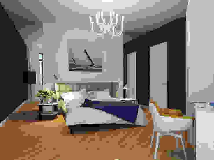 Mediterranean style bedroom by Оксана Мухина Mediterranean