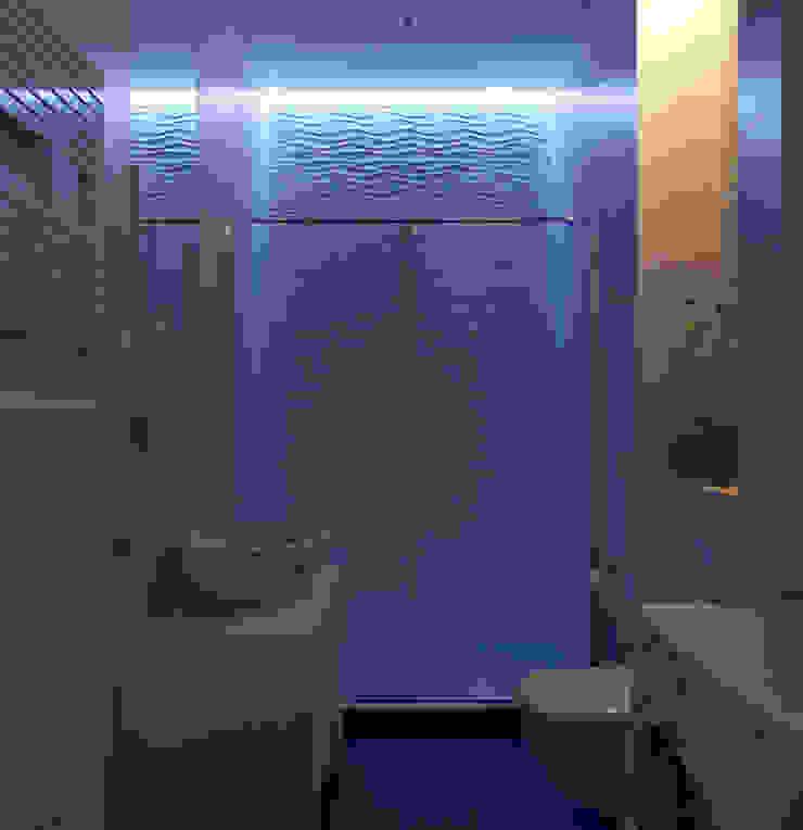 Санузел гостевой Ванная в средиземноморском стиле от Оксана Мухина Средиземноморский