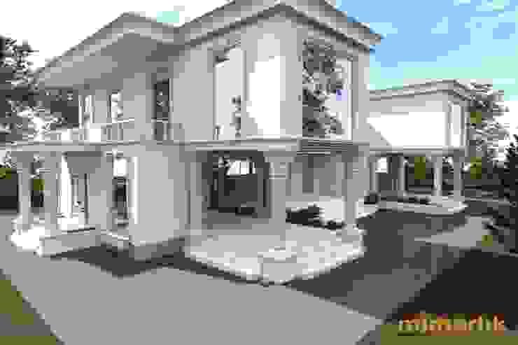 Villa Kent Projesi Modern Evler PORTAKAL MİMARLIK MÜHENDİSLİK İNŞAAT RÖLÖVE VE RESTORASYON Modern