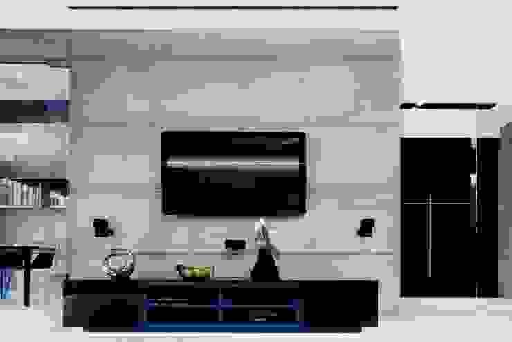 ART. – SPORT – RELAX  Warszawa - mieszkanie 90 m2 : styl , w kategorii Pokój multimedialny zaprojektowany przez TG STUDIO,Nowoczesny