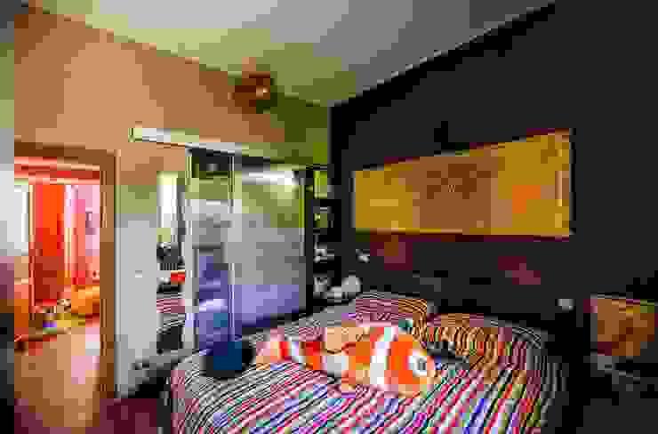 in camera da letto con brio Camera da letto eclettica di Studio Prospettiva Eclettico
