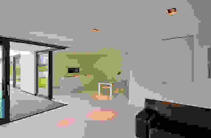 CKX architecten Moderne Wohnzimmer