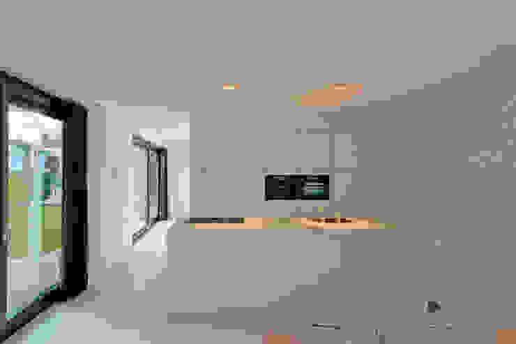CKX architecten ห้องครัว