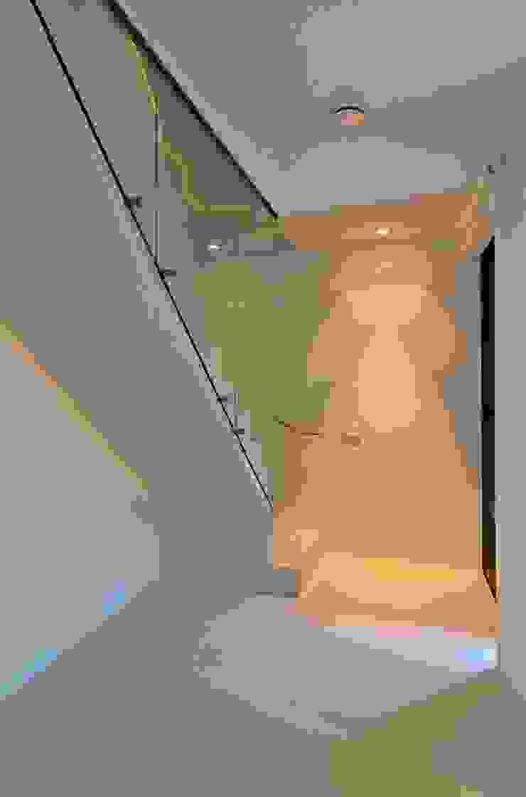 CKX architecten ห้องโถงทางเดินและบันไดสมัยใหม่