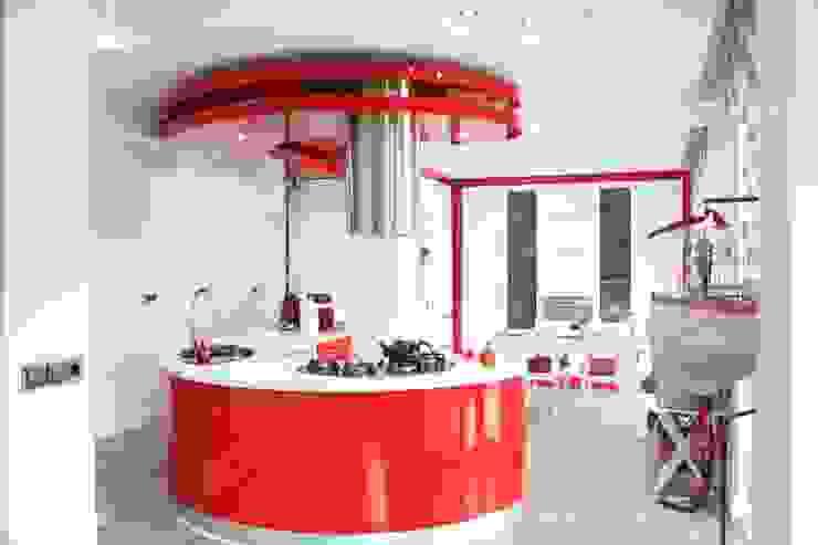 Kitchen by ÖZ-İŞ İNŞAAT İÇ MİMARLIK HAZIR MUTFAK