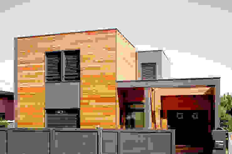 모던스타일 주택 by Cendrine Deville Jacquot, Architecte DPLG, A²B2D 모던