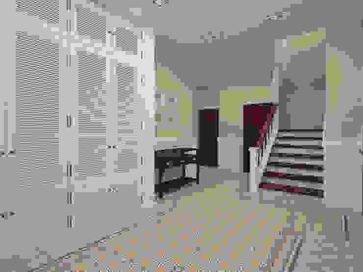 Холл Коридор, прихожая и лестница в стиле кантри от Олег Елфимычев Кантри