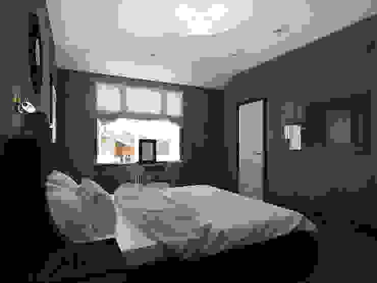 Спальня Спальня в скандинавском стиле от Олег Елфимычев Скандинавский