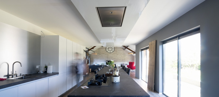 keuken/woonkamer van Addition bv Industrieel