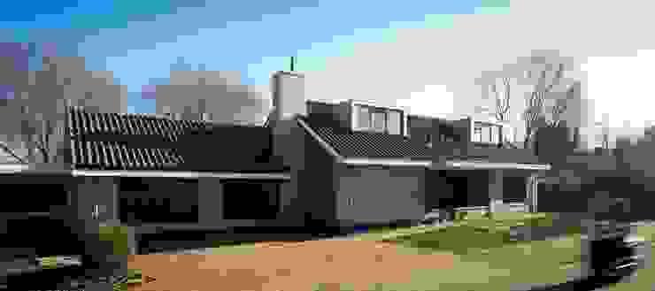 voorzijde huis na de verbouwing van Addition bv Industrieel