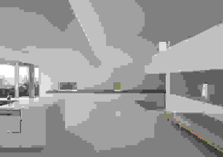 LDK モダンデザインの リビング の 森裕建築設計事務所 / Mori Architect Office モダン