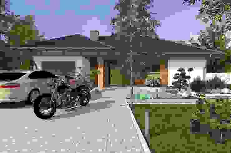 DZ-3 - dom energoszczędny Klasyczne domy od ABC Pracownia Projektowa Bożena Nosiła - 1 Klasyczny