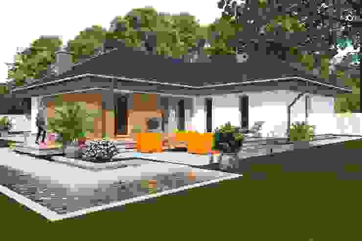DZ-3 – dom energoszczędny Klasyczne domy od ABC Pracownia Projektowa Bożena Nosiła - 1 Klasyczny