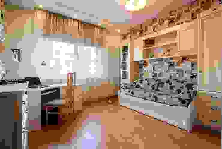 Комната девочки Детские комната в эклектичном стиле от Ольга Макарова (Экодизайн) Эклектичный