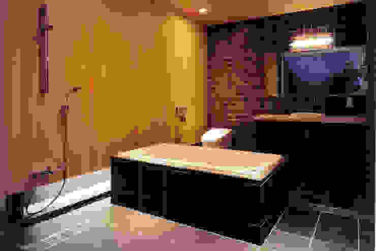 ゲスト用バスルーム モダンスタイルの お風呂 の 豊田空間デザイン室 一級建築士事務所 モダン