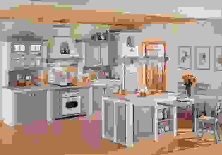 Italienische Landhausküche von homify Landhaus