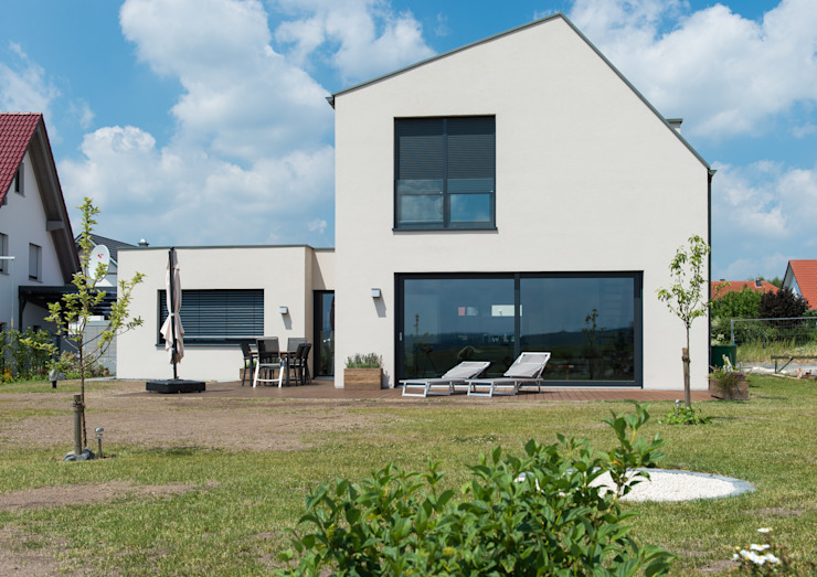 Projekty,  Domy zaprojektowane przez herbertarchitekten Partnerschaft mbB, Nowoczesny