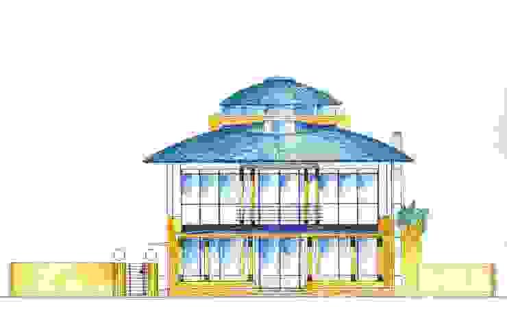 Houses by Architektur und Geomantie,
