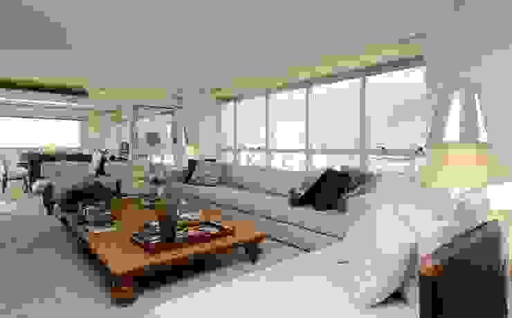Cobertura Parque Areião Salas de estar modernas por Ana Paula e Sanderson Arquitetura Moderno