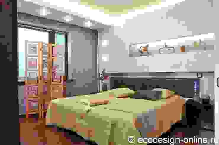 В ярких красках Спальня в колониальном стиле от Ольга Макарова (Экодизайн) Колониальный