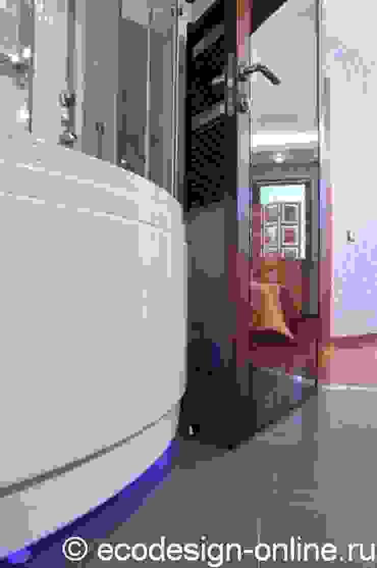 В ярких красках Ванная комната в эклектичном стиле от Ольга Макарова (Экодизайн) Эклектичный