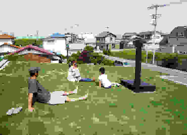 芝生の屋根|mat house: KAZ建築研究室が手掛けた家です。,