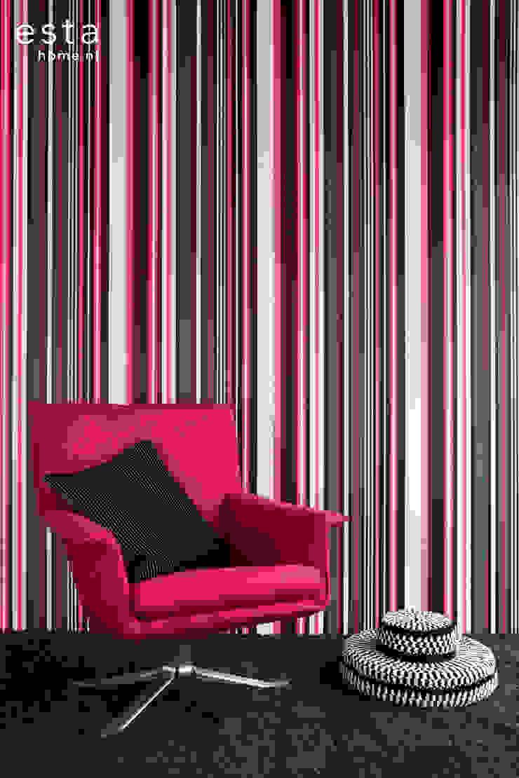 StripesXL van ESTAhome.nl Moderne muren & vloeren van ESTAhome.nl Modern