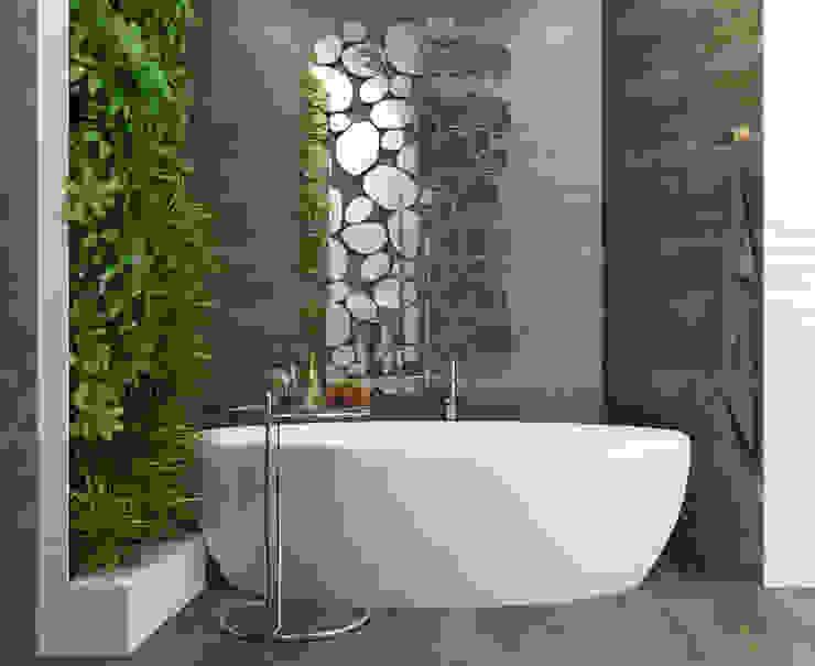 Спальня с умными технологиями: Ванные комнаты в . Автор – Tatiana Shishkina, Средиземноморский